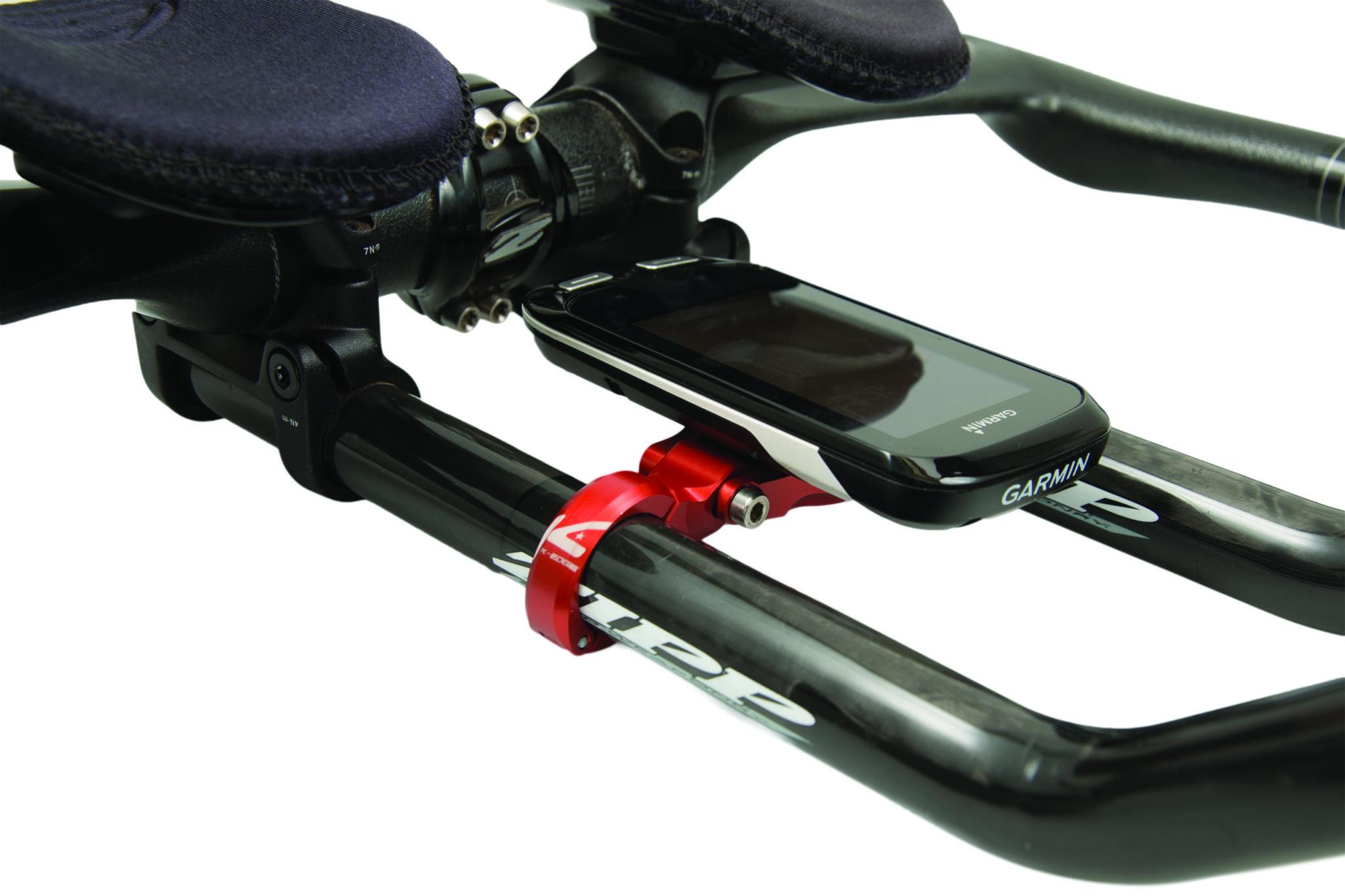 K-Edge Garmin TT//Aero Bicycle Cycle Bike Mount Blue