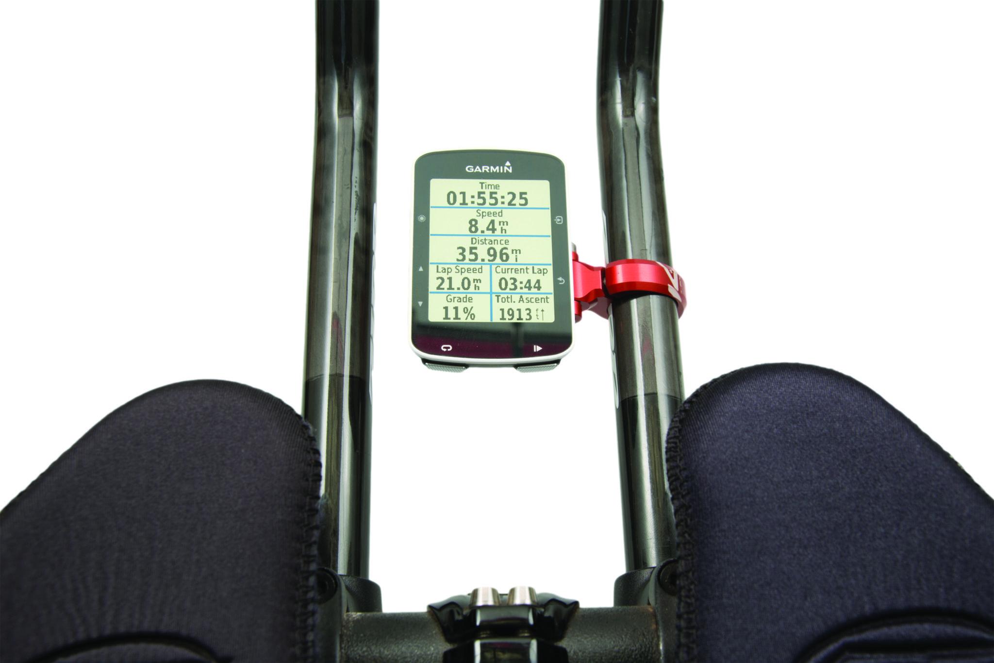 K-Edge Sport TT//Aero Bar Adjustable 22.2mm Bike Handlebar Mount for Garmin Edge