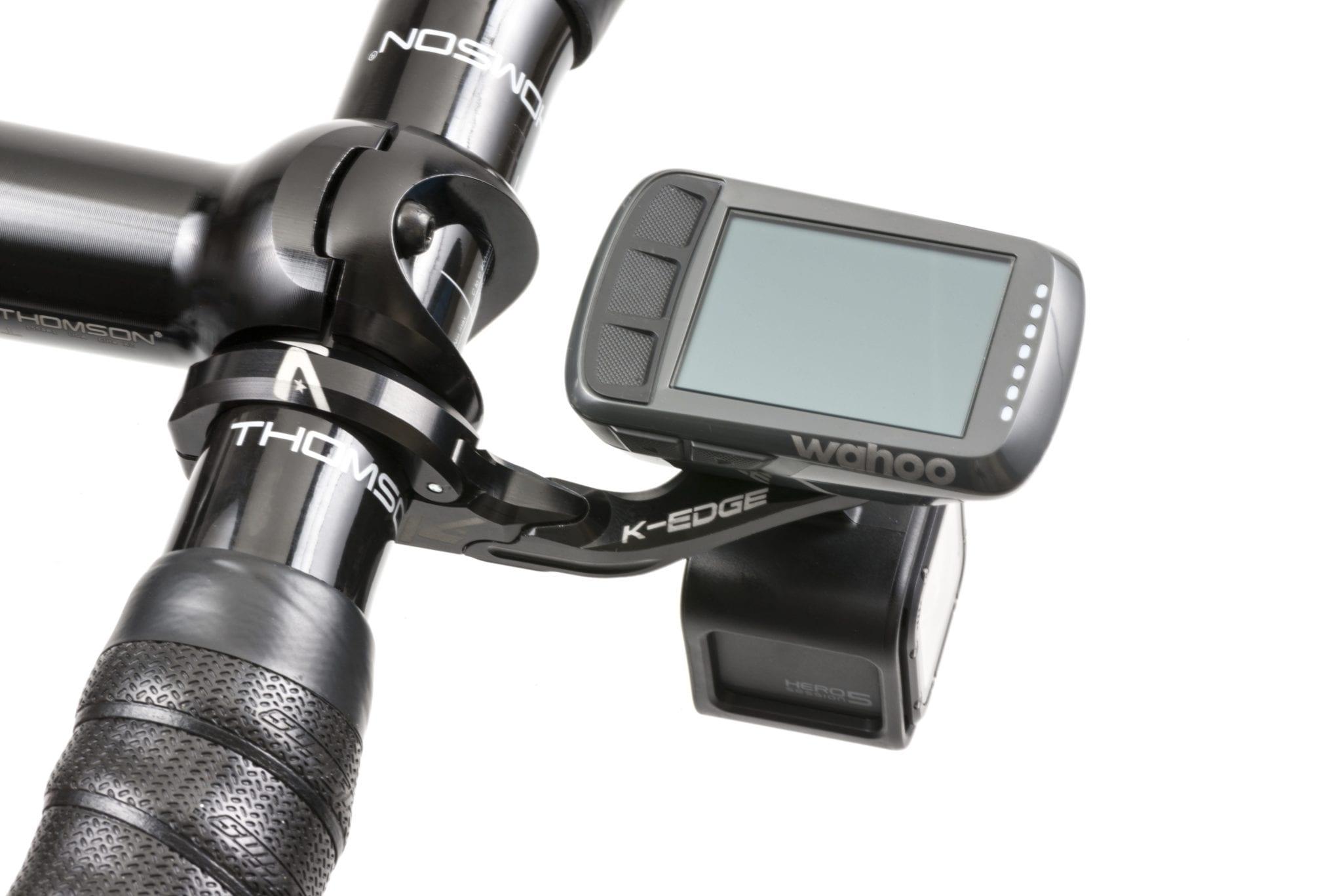 31.8mm Black K-EDGE Pro Garmin XL Combo Handlebar Mount