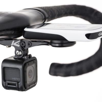 Lightweight Bike Cycling Computer Camera Holder Handlebar Stem Extension Mount